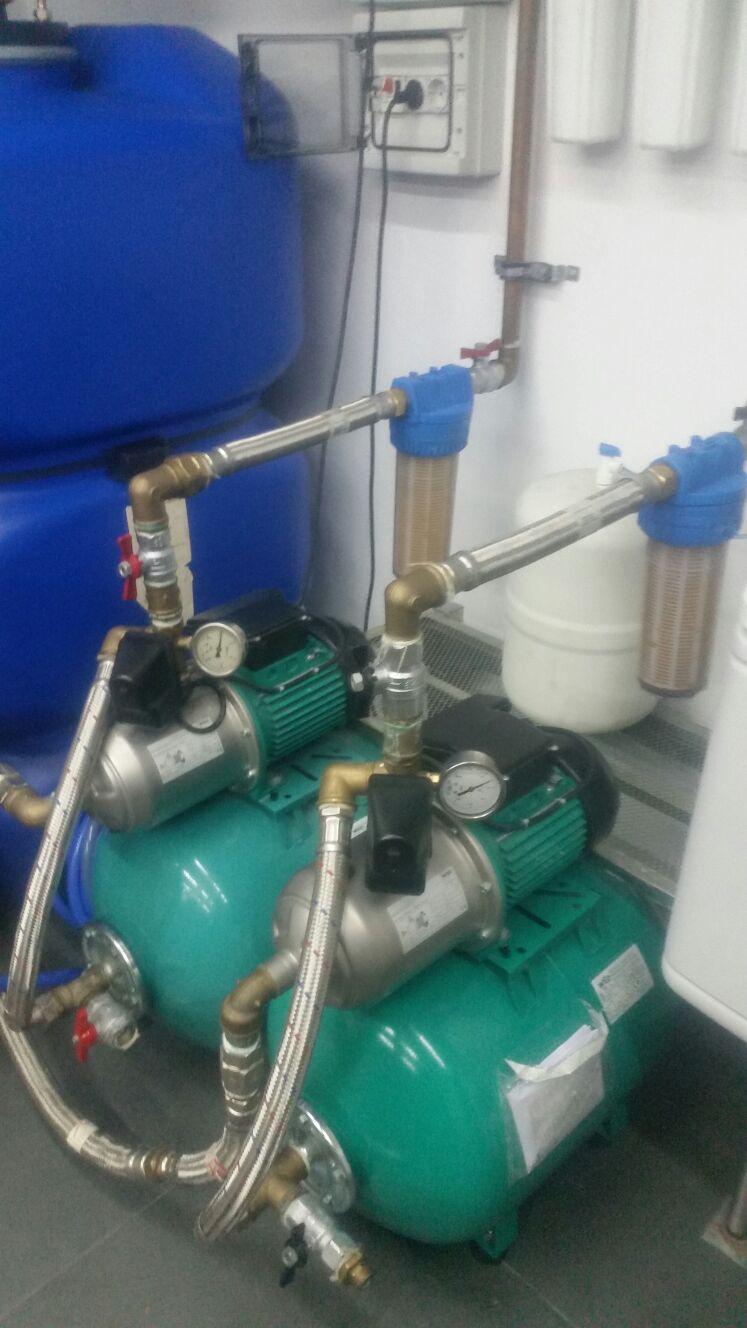 Mantenimiento bomba agua